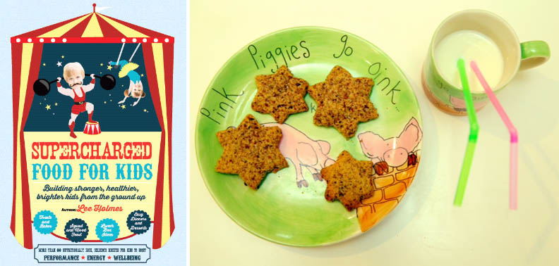 Supercharged food for kids book review veggiesandme the cover of supercharged food for kids and lees 4pm pick up biscuits forumfinder Choice Image