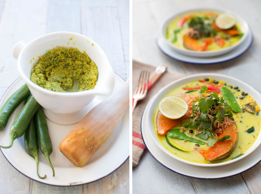 green curry double