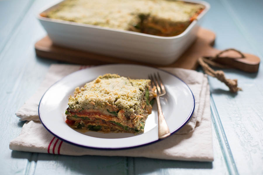 lasagne with beans 2