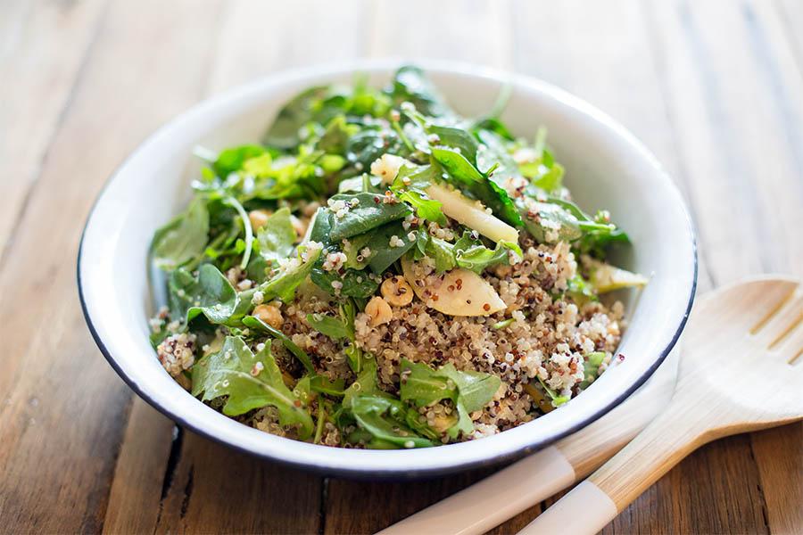 quinoa and pear salad sm