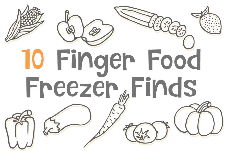 finger food for kids from freezer