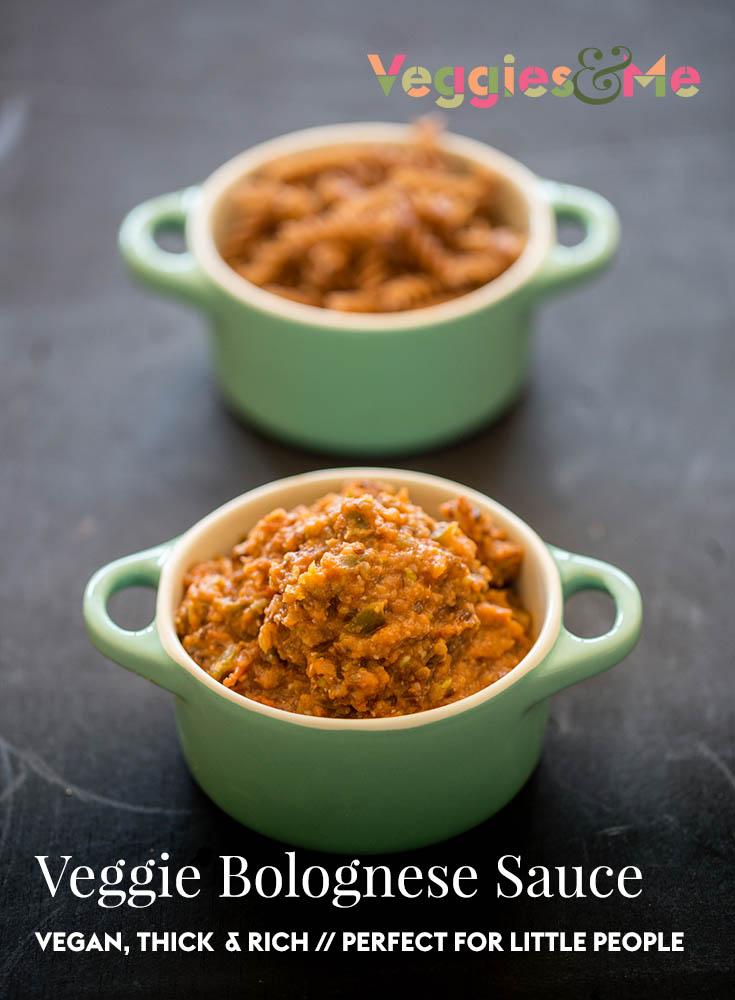 Vegan Veggie Bolognese Sauce