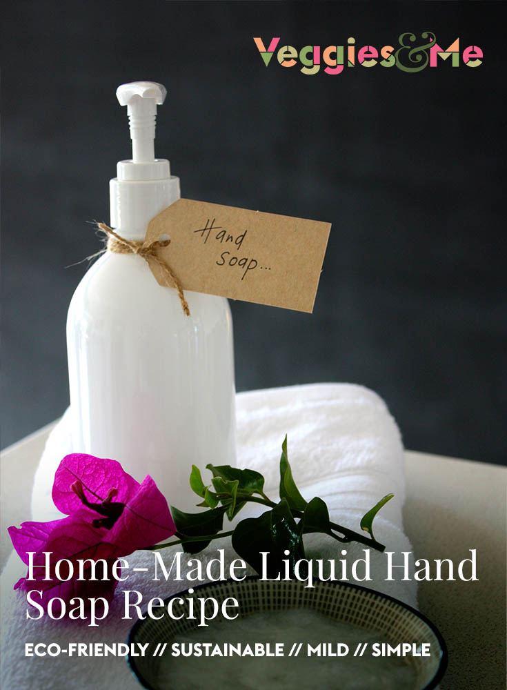 Home-made liquid hand soap recipe
