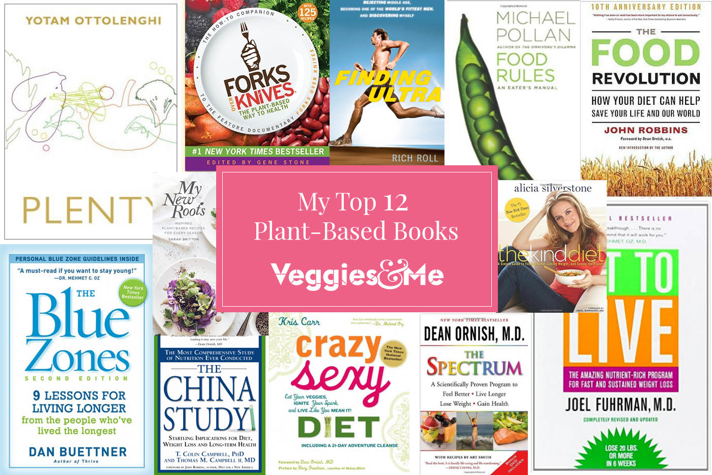 My Top 12 Plant-Based Books