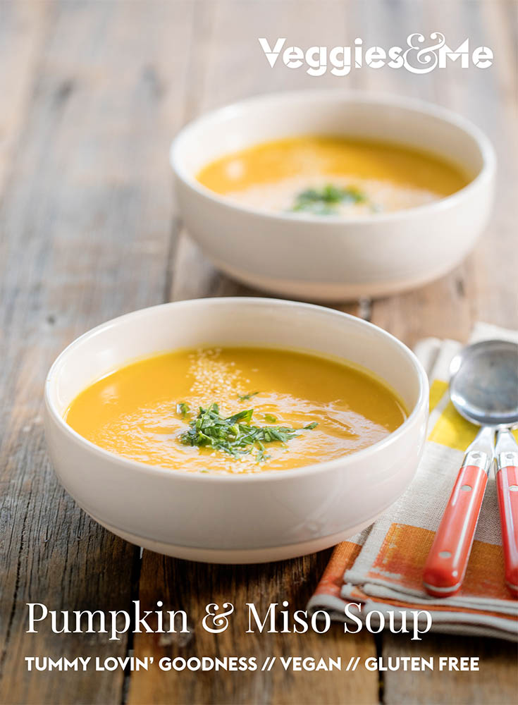 Pumpkin and Miso Soup