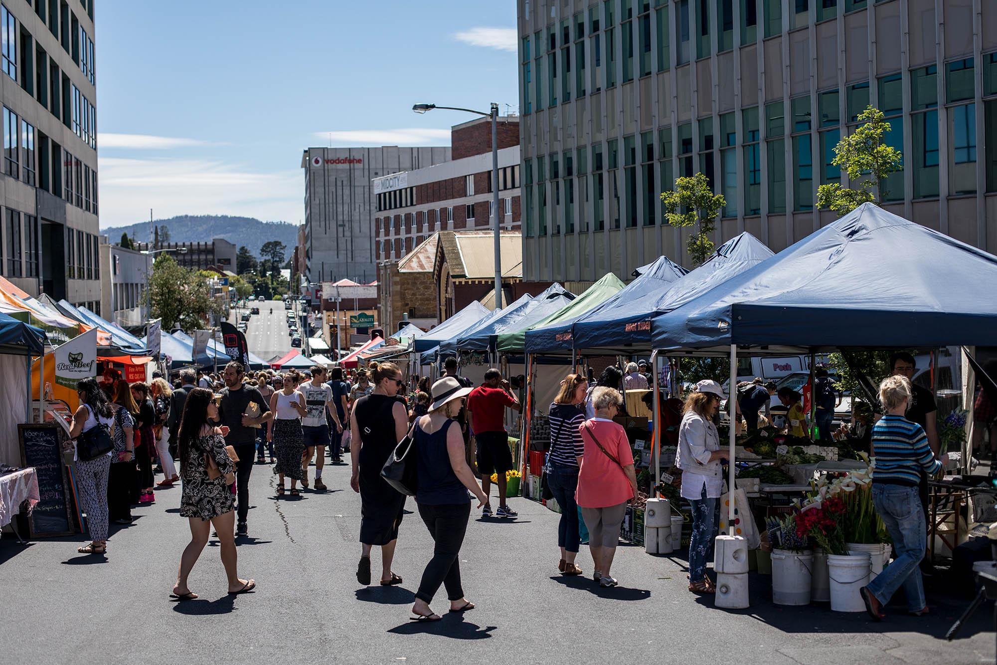 Farmgate Market Hobart