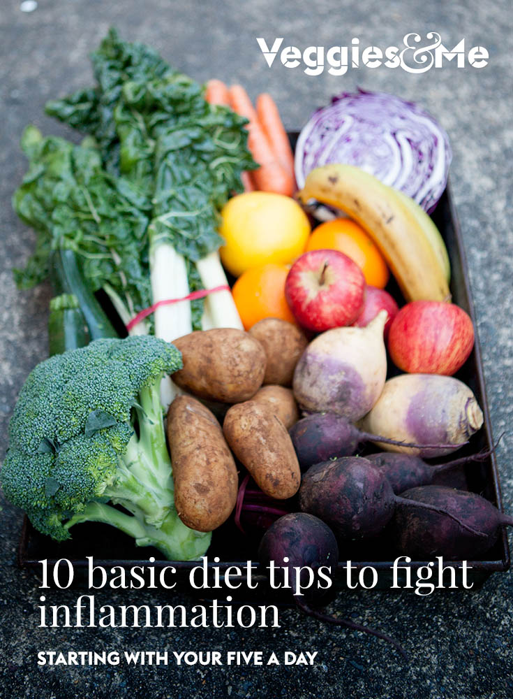 10 basic diet tips to fight inflammation
