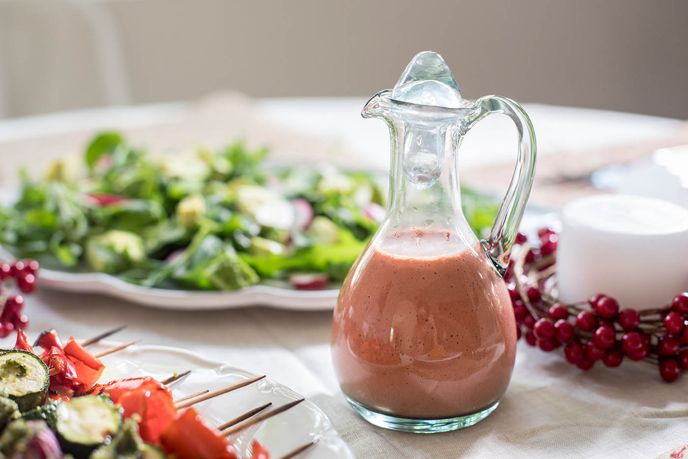 Strawberry and Balsamic Salad Dressing