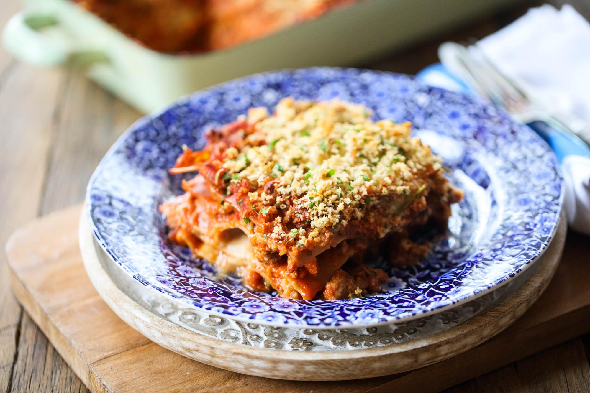 Veggie Lasagne with Quorn Mince