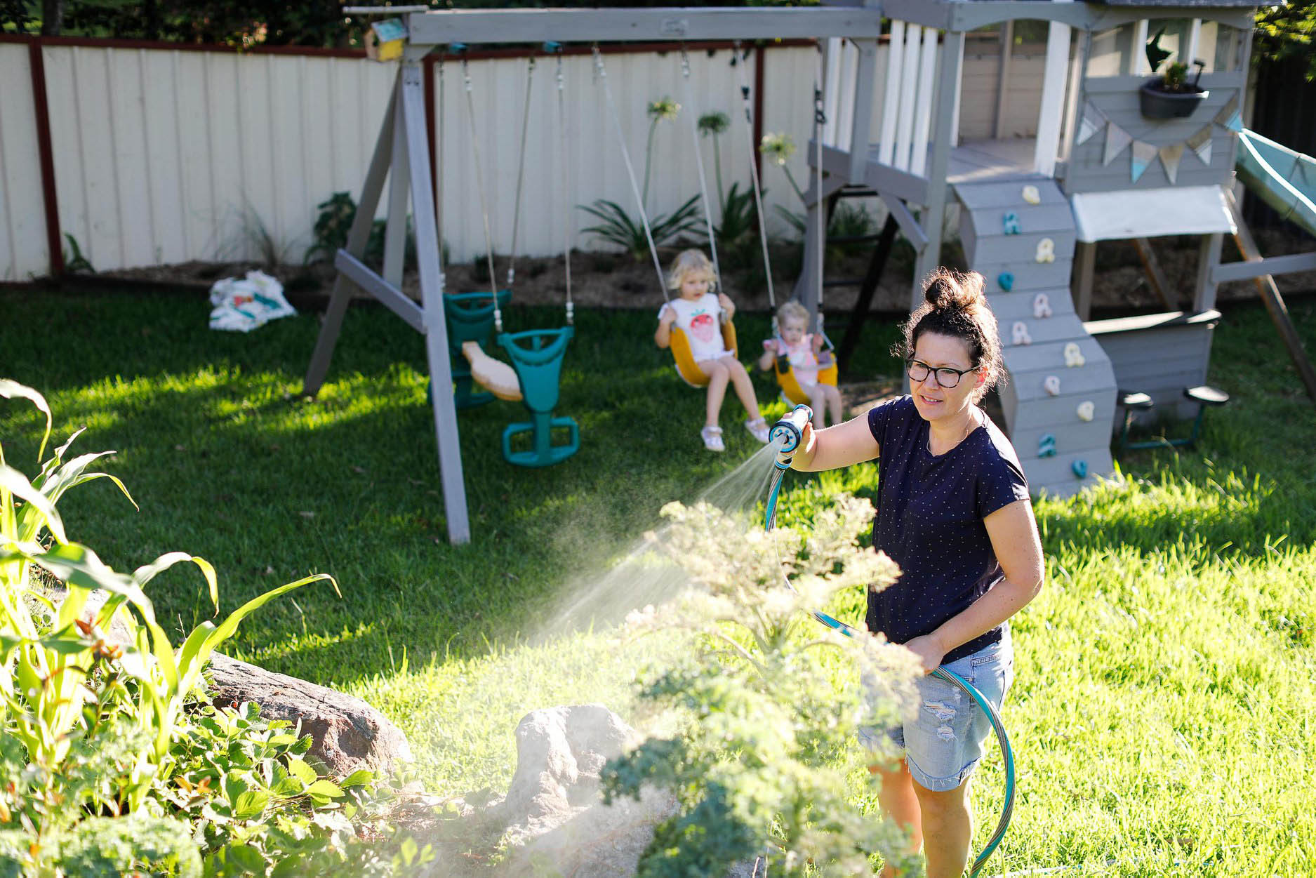 how to set up a veggie garden